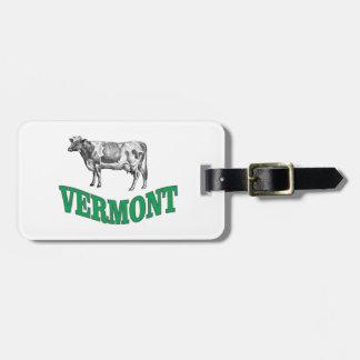 Étiquette À Bagage le Vermont vert