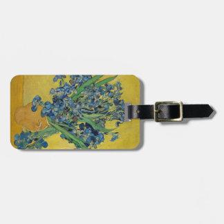 Étiquette À Bagage L'iris de Van Gogh