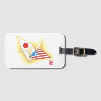 Étiquette À Bagage Logement pour carte de l'étiquette w/Business de