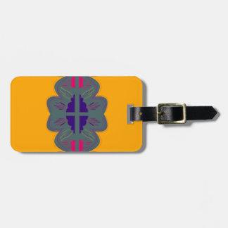 Étiquette À Bagage Mandala Japon de conception