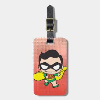 Étiquette À Bagage Mini Robin