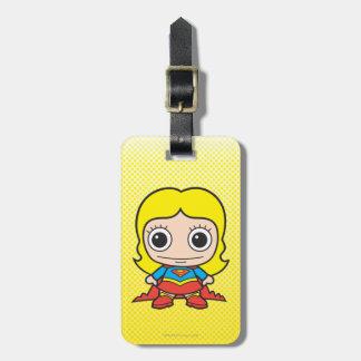Étiquette À Bagage Mini Supergirl