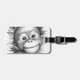 Étiquette À Bagage Monkey - Baby Orang outan 2016 G-121