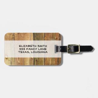 Étiquette À Bagage Mur de grange fait de vieilles planches en bois -