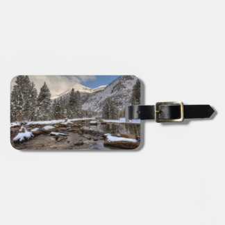 Étiquette À Bagage Neige de ressort, sierra Nevada, CA