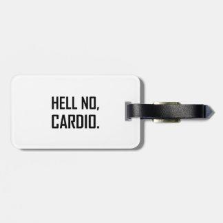 Étiquette À Bagage Non cardio-