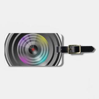Étiquette À Bagage Objectif de caméra