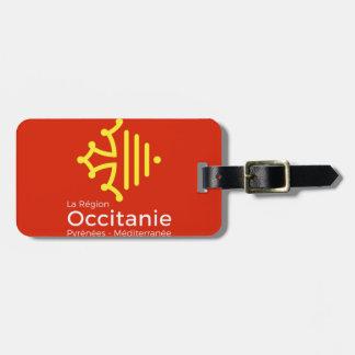 """étiquette à bagage """"Occitanie"""""""