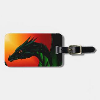 Étiquette À Bagage Oeil du dragon