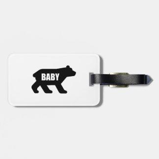 Étiquette À Bagage Ours de bébé