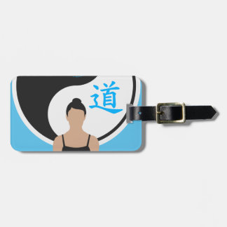 Étiquette À Bagage Paix de yoga de Yin Yang