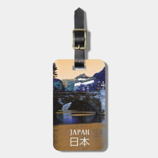 Étiquette À Bagage Palais impérial à Tokyo, Japon