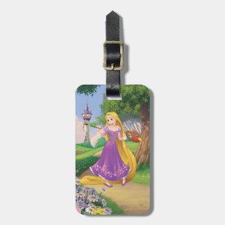 Étiquette À Bagage Peinture de Rapunzel | avec Pascal