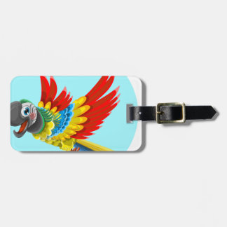 Étiquette À Bagage perroquet