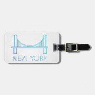 Étiquette À Bagage Pont de Brooklyn | New York City