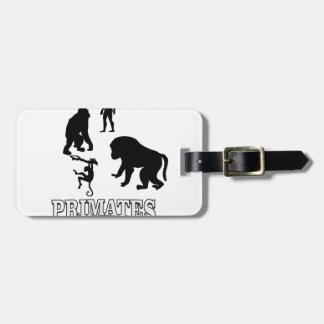 Étiquette À Bagage primats d'ombre