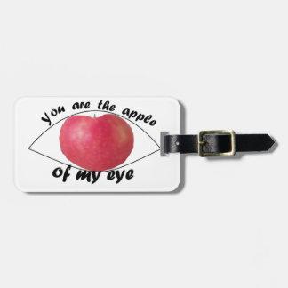 Étiquette À Bagage Prunelle de mon oeil