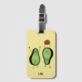 Étiquette À Bagage Puits vert encourageant drôle d'appui renversé