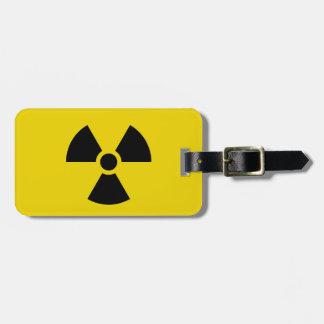 Étiquette À Bagage Radioactif