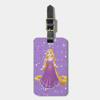 Étiquette À Bagage Rapunzel et Pascal