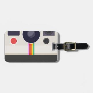 Étiquette À Bagage Rétro appareil-photo