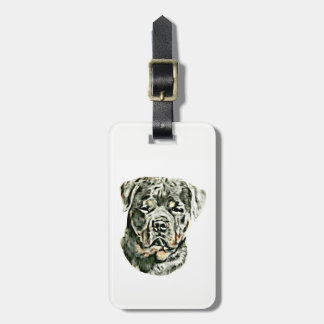 Étiquette À Bagage Rottweiler