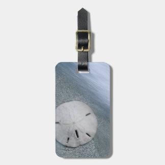 Étiquette À Bagage Sanddollar sur l'île de la plage | Sanibel, la
