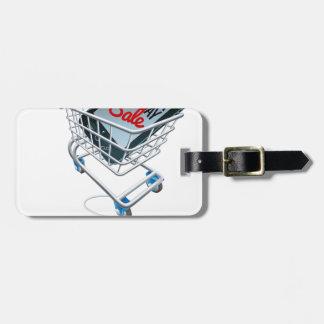 Étiquette À Bagage Signe de souris de chariot à téléphone de vente de