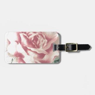 Étiquette À Bagage Simplement roses