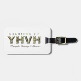 Étiquette À Bagage SOLDATS de chrétien de YHVH