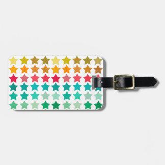 Étiquette À Bagage Stars