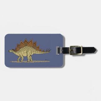 Étiquette À Bagage Stegosaurus