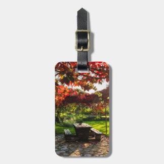 Étiquette À Bagage Sun par le feuille d'automne, Croatie