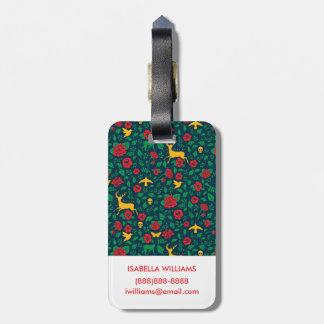 Étiquette À Bagage Symboles de la vie de Frida Kahlo |