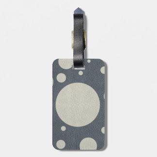 Étiquette À Bagage Taches dispersées par pierre sur la texture en