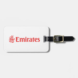 Étiquette À Bagage TAG Crew Emirates
