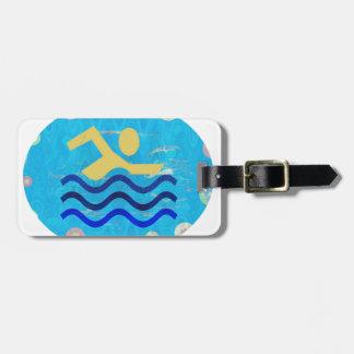 Étiquette À Bagage Temps chauds mind2 frais de bain