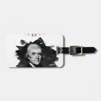 Étiquette À Bagage Thomas Jefferson