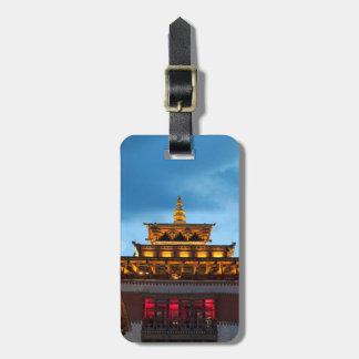 Étiquette À Bagage Toit bouddhiste de Dzong