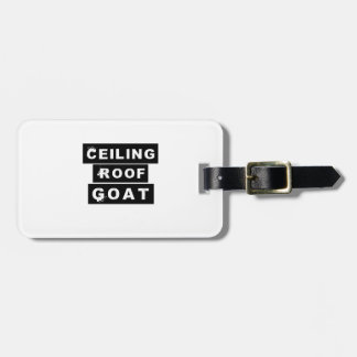 Étiquette À Bagage Toit Goa de plafond