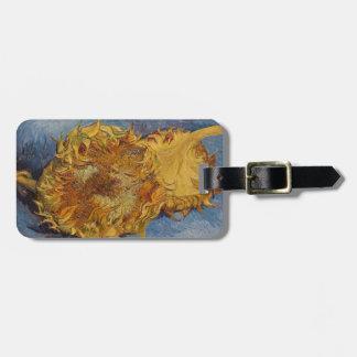 Étiquette À Bagage Tournesols de Vincent van Gogh |, 1887