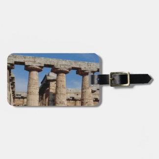 Étiquette À Bagage tours de marbre de la Grèce antique