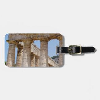 Étiquette À Bagage travaux massifs de Grec