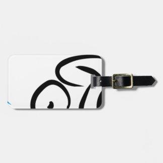 Étiquette À Bagage Triathlon