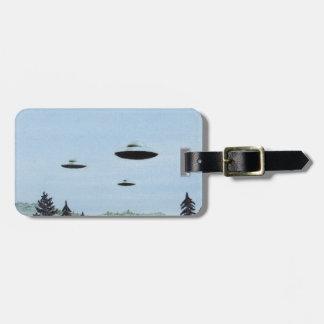 Étiquette À Bagage Trio d'UFO
