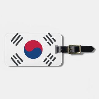 Étiquette À Bagage Twitter emoji - South Korea Flag