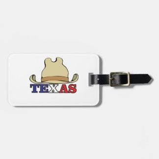 Étiquette À Bagage type le Texas