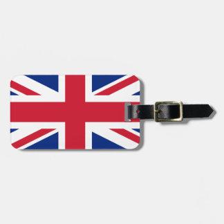 Étiquette À Bagage Union Jack