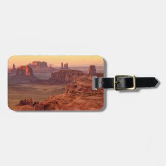 Étiquette À Bagage Vallée de monument pittoresque, Arizona