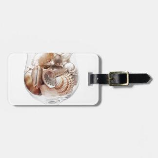 Étiquette À Bagage Verre de mer